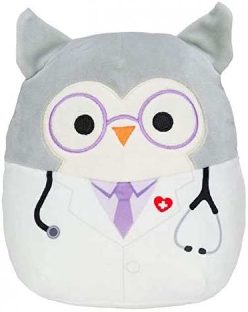 Squishmallows Hoot 8-Inch Plush [Doctor]