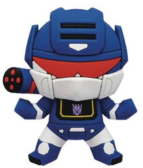 Transformers 3D Figural Bag Clip Series 1 Soundwave Minifigure [Loose]