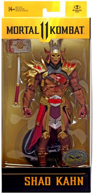 McFarlane Toys Mortal Kombat 11 Series 5 Shao Kahn Action Figure [Bloody, Plantinum Edition]