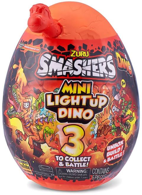 Smashers Series 4 Light-Up Dino RANDOM Dino! MINI Surprise! Mystery Egg (Pre-Order ships September)