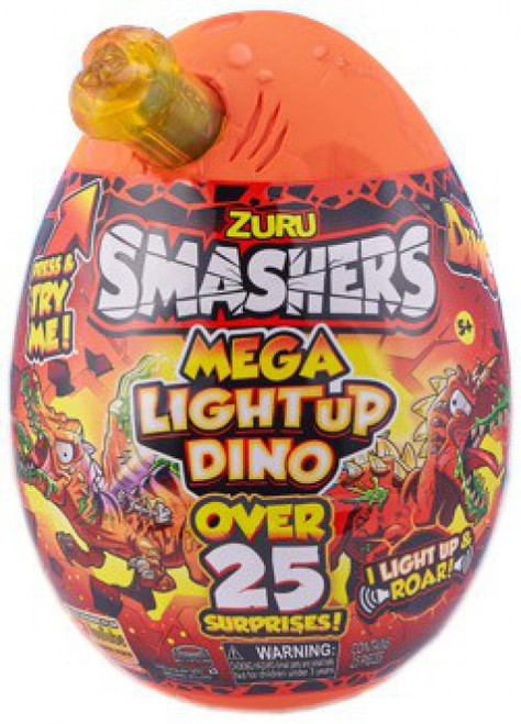 Smashers Series 4 Mega Light-Up Dino RANDOM Color Surprise! Mystery Egg (Pre-Order ships October)