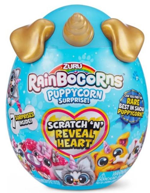 Rainbocorns Series 3 Sparkle Heart Puppycorn Surprise Mystery Egg Plush (Pre-Order ships August)