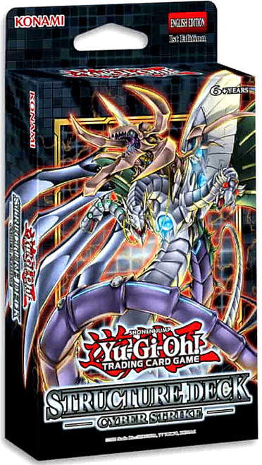 YuGiOh Trading Card Game Cyber Strike Structure Deck (Pre-Order ships October)