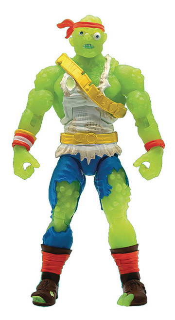 ReAction Toxic Crusaders Ultimate Series Toxie Action Figure [Radioactive Red Rage] (Pre-Order ships March)