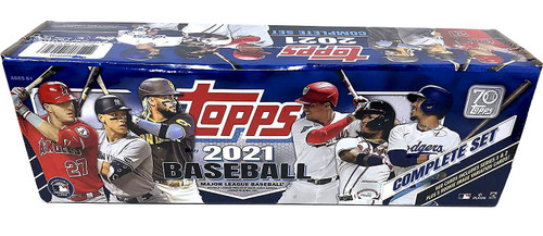 MLB Topps 2021 Baseball Trading Card RETAIL Factory Set [660 Cards + 1 Rookie Pack] (Pre-Order ships August)