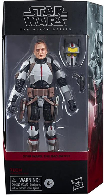 Star Wars The Bad Batch Black Series Wave 5 Tech Action Figure (Pre-Order ships October)