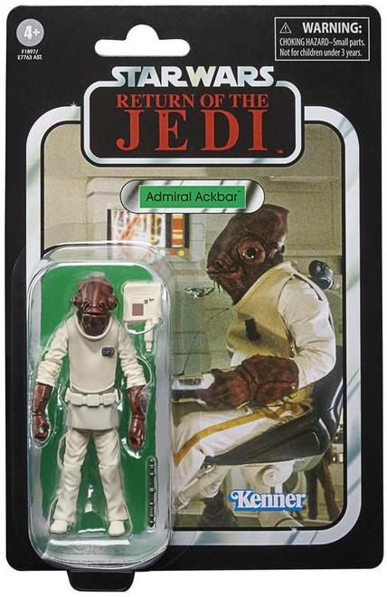 Star Wars Return of the Jedi 2020 Vintage Collection Wave 8 Admiral Ackbar Action Figure