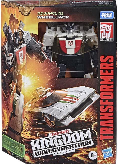 Transformers Generations Kingdom: War for Cybertron Trilogy Wheeljack Deluxe Action Figure (Pre-Order ships June)