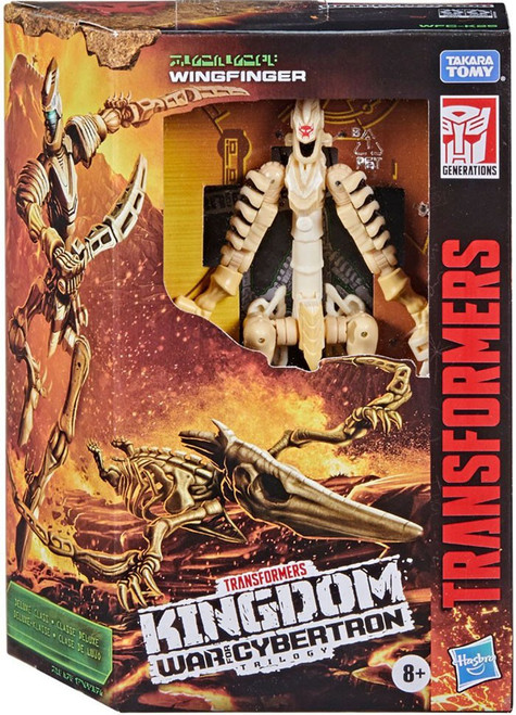 Transformers Generations Kingdom: War for Cybertron Trilogy Wingfinger Deluxe Action Figure (Pre-Order ships May)