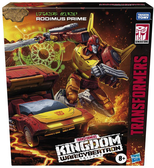 Transformers Generations Kingdom: War for Cybertron Trilogy Rodimus Prime Commander Action Figure (Pre-Order ships September)