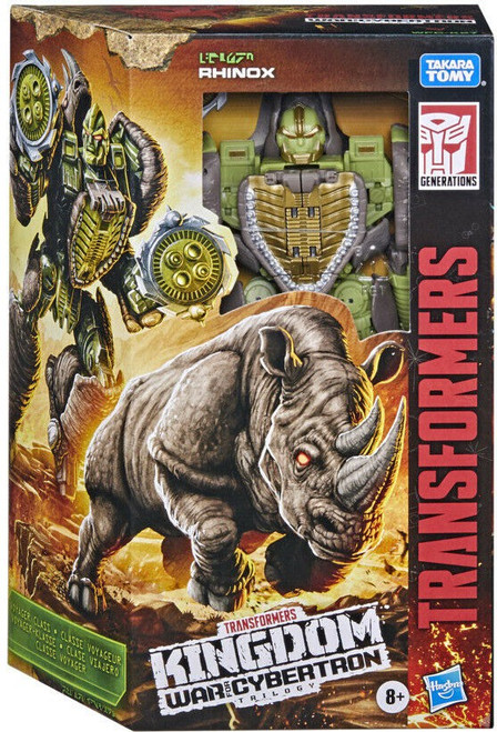 Transformers Generations Kingdom: War for Cybertron Trilogy Rhinox Voyager Action Figure (Pre-Order ships July)