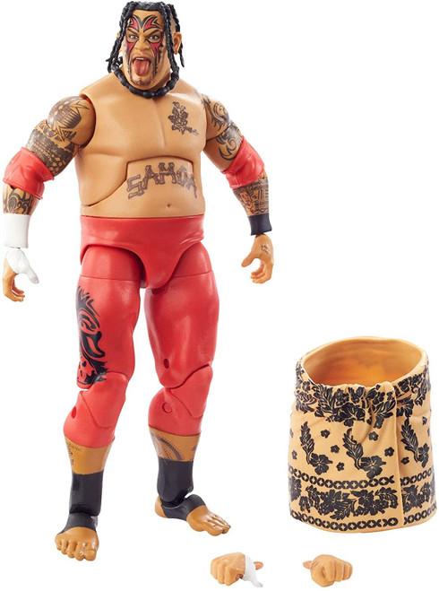 WWE Wrestling Elite Collection Royal Rumble Umaga Exclusive Action Figure