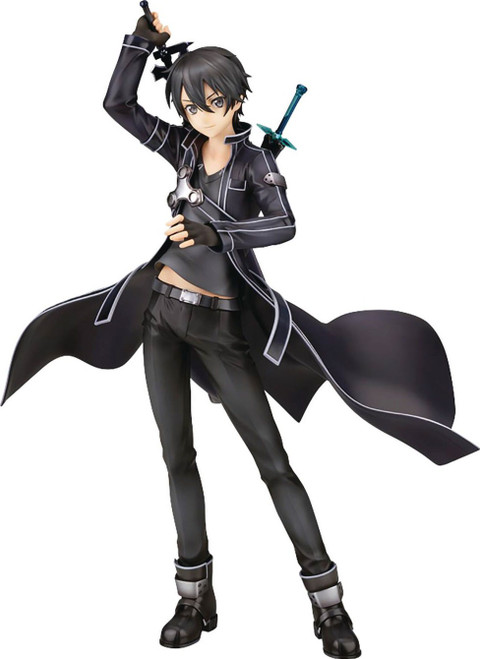 Sword Art Online: Ordinal Scale Kirito 10-Inch Collectible PVC Figure [1:7 Scale] (Pre-Order ships July 2022)