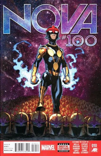 Marvel Nova, Vol. 5 #10 Comic Book [#100 Legacy]