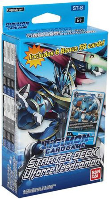 Digimon Trading Card Game Ulforce Veedramon Starter Deck ST-8 (Pre-Order ships October)