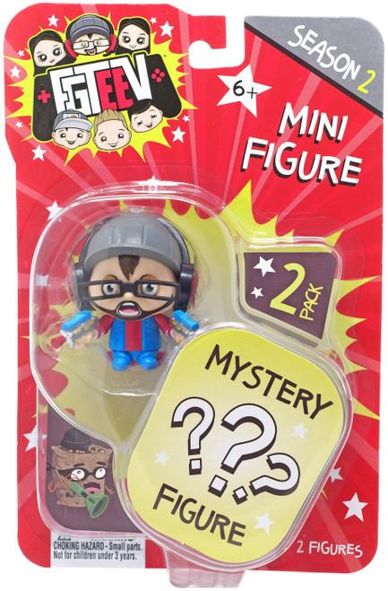 FGTeeV Season 2 Laser Gamer Duddy & Mystery Action Figure 2-Pack