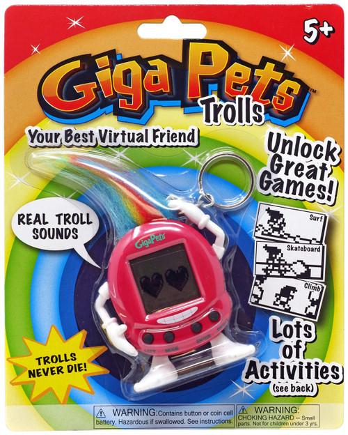 Giga Pets Trolls Red Virtual Pet Toy
