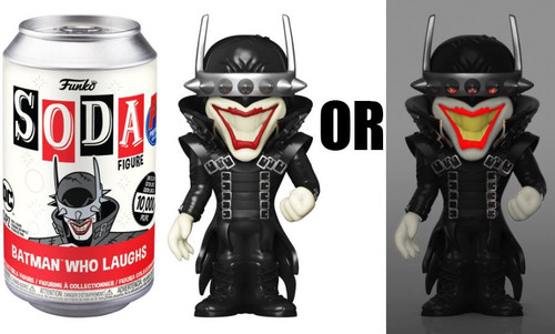 Funko Fiunko Vinyl Soda Batman Who Laughs Exclusive Limited Edition of 10,000! Vinyl Figure [1 RANDOM Figure, Look For The Chase!] (Pre-Order ships October)