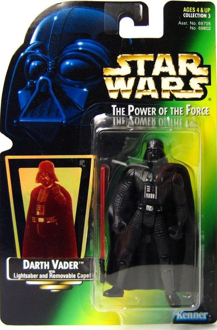 Star Wars Return of the Jedi Power of the Force POTF2 Collection 3 Darth Vader Action Figure