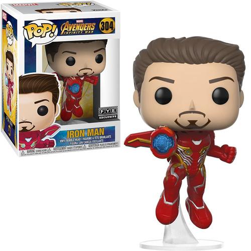Funko Marvel Universe Avengers Infinity War POP! Marvel Iron Man Exclusive Vinyl Figure #304 [Unmasked Exclusive, Loose]