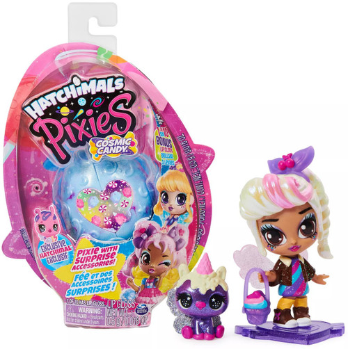 Hatchimals Pixies Cosmic Candy Mystery Pack [RANDOM Figure]