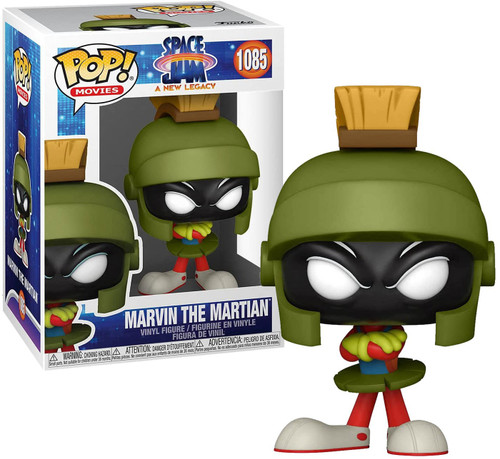Funko Space Jam: A New Legacy Marvin The Martian Vinyl Figure #1085 (Pre-Order ships June)