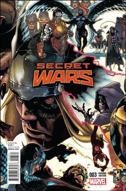 Marvel Secret Wars (2015) #3 Comic Book [Bianchi Variant]