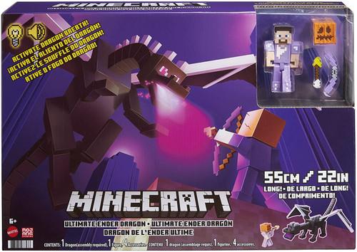 Minecraft Ultimate Ender Dragon Action Figure Set (Pre-Order ships June)