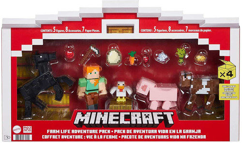 Minecraft Farm Life 3.25-Inch Adventure Pack (Pre-Order ships July)