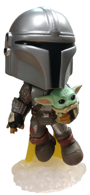 Funko Star Wars The Mandalorian with The Child / Baby Yoda 1/24 Mystery Minifigure [Flying Loose]