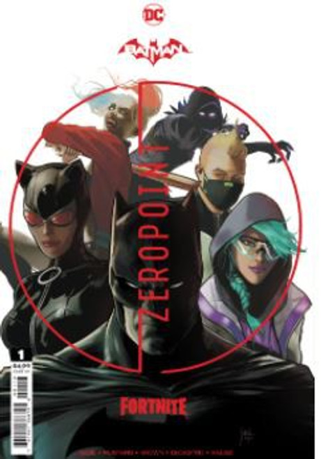 DC Comics Batman / Fortnite Zero Point #1 RECOLORED (3rd Printing) (Mikel Janin) Comic Book [Comes with Online Game Digital Item Code to Unlock Rebirth Harley Quinn Outfit!]