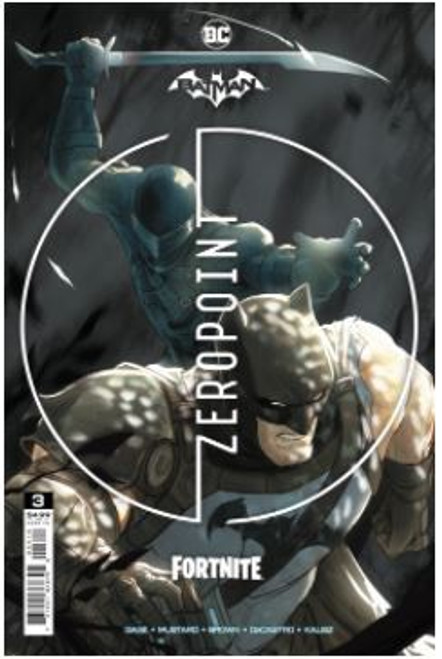 DC Comics Batman / Fortnite Zero Point #3 RECOLORED (2nd Printing) (Mikel Janin) Comic Book [Comes with Online Game Digital Item Code to Unlock Catwoman's Claw Pickaxe!]