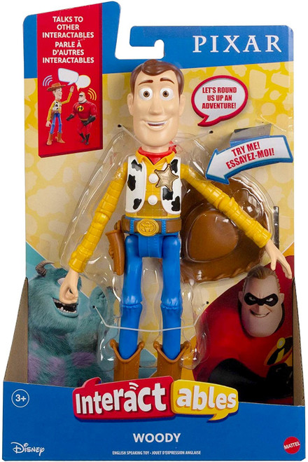 Disney / Pixar Toy Story 4 Interactables Woody Action Figure