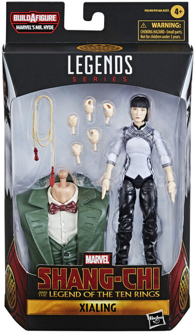 Shang Chi & The Legend of the Ten Rings Marvel Legends Mr. Hyde Series Xialing Action Figure