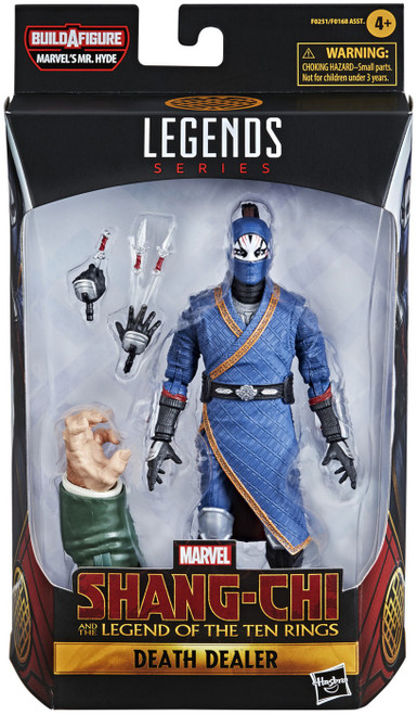 Shang Chi & The Legend of the Ten Rings Marvel Legends Mr. Hyde Series Death Dealer Action Figure