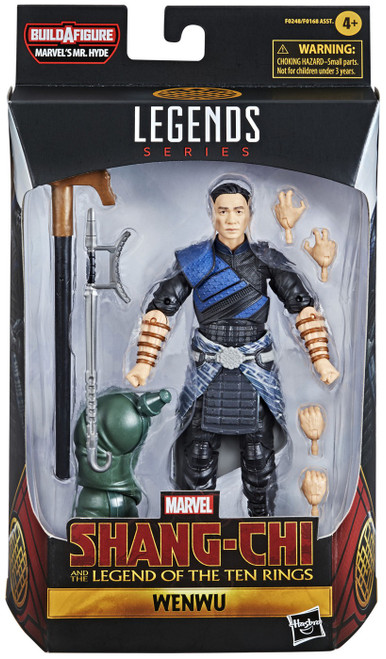 Shang Chi & The Legend of the Ten Rings Marvel Legends Mr. Hyde Series Wenwu Action Figure