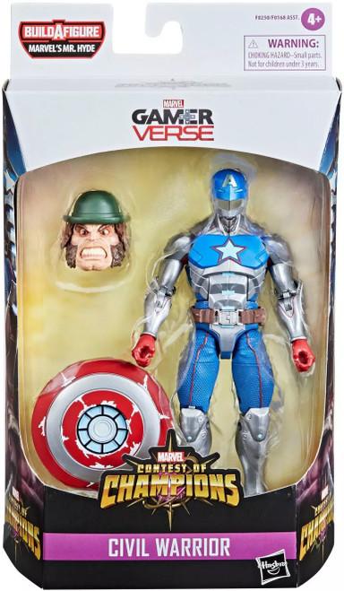 Contest of Champions Marvel Legends Mr. Hyde Series Civil Warrior Action Figure