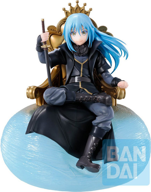 That Time I Got Reincarnated as a Slime Ichiban Rimuru 8.85-Inch Collectible PVC Figure [I Became A King] (Pre-Order ships September)