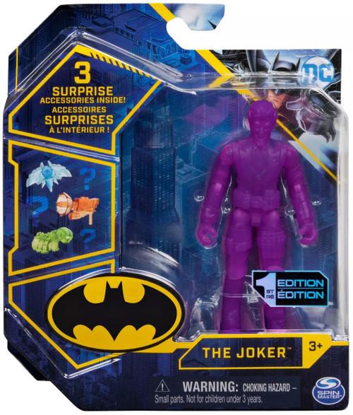 DC Batman The Joker Action Figure [Translucent Purple]