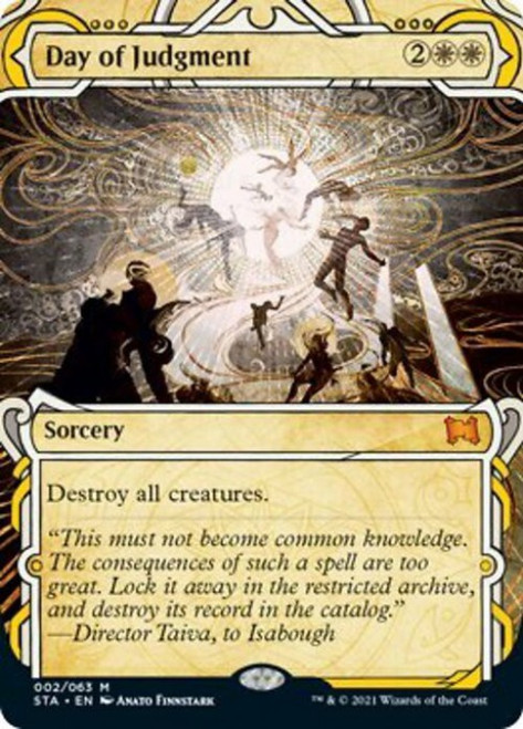 MtG Strixhaven: Mystical Archive Mythic Rare Foil Day of Judgment #2