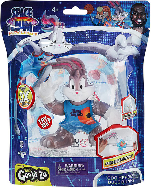 Heroes of Goo Jit Zu Looney Tunes Space Jam A New Legacy Bugs Bunny Action Figure