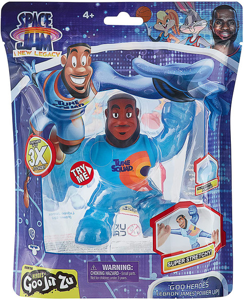 Heroes of Goo Jit Zu Looney Tunes Space Jam A New Legacy LeBron James Action Figure [Powered Up Version]