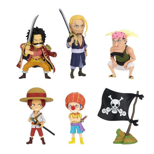 One Piece WCF World Collectable Figure Wanokuni Kaisouchen 3 3-Inch Box of 12 Mini Figures (Pre-Order ships December)