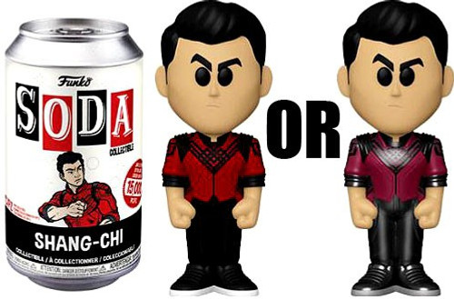 Funko Marvel Shang-Chi and the Legend of the Ten Rings Vinyl Soda Shang-Chi Limited Edition of 15,000! Vinyl Figure [1 RANDOM Figure Look For The Chase!] (Pre-Order ships June)