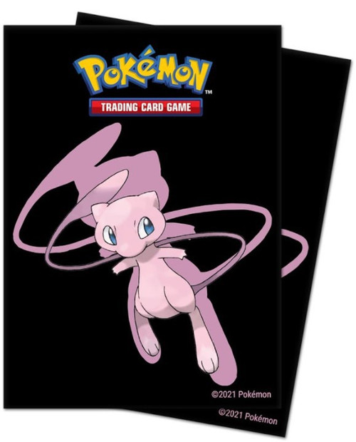 Ultra Pro Pokemon Trading Card Game Mew Standard Card Sleeves [65 Count] (Pre-Order ships September)