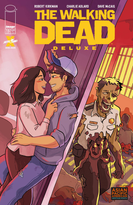 Image Comics The Walking Dead Deluxe #15 Comic Book [Cover E Young Appi] (Pre-Order ships May)