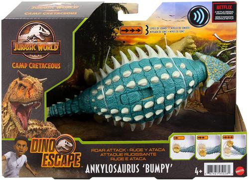 Jurassic World Camp Cretaceous Dino Escape Ankylosaurus 'Bumpy' Action Figure [Roar Attack ]