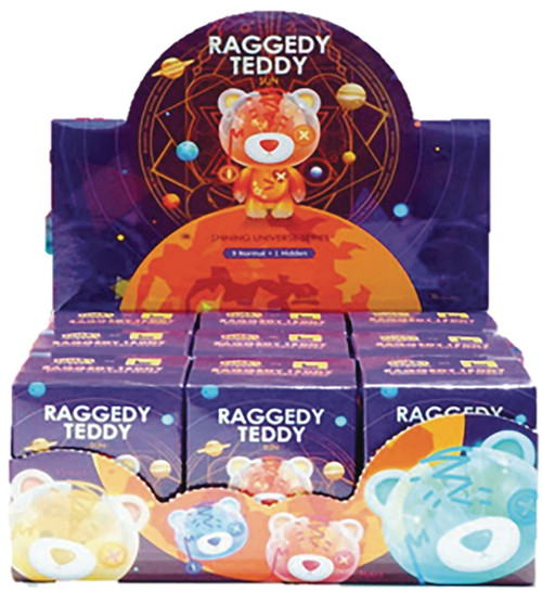 Raggedy Teddy Space & Glow Blind Mystery Box [9 RANDOM Figures] (Pre-Order ships October)
