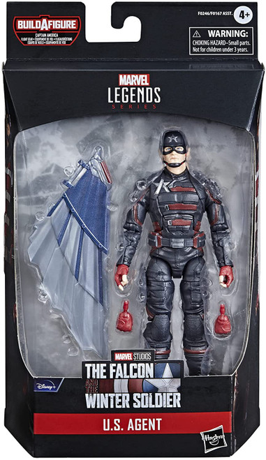 The Falcon and the Winter Soldier Marvel Legends Captain America Flight Gear Series US Agent Action Figure [Disney Plus] (Pre-Order ships June)