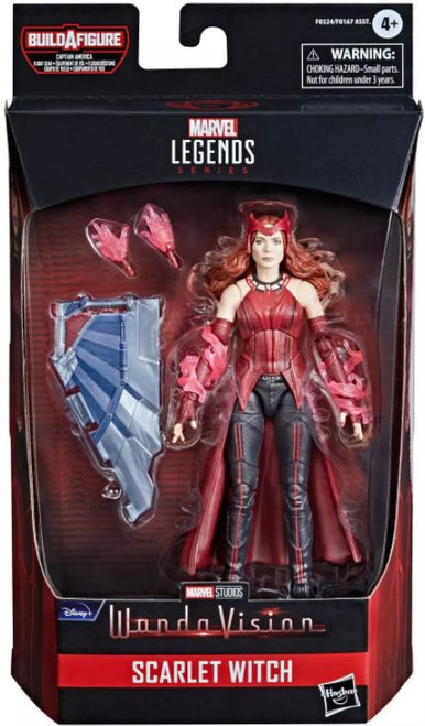 The Falcon and the Winter Soldier Marvel Legends Captain America Flight Gear Series Scarlett Witch Action Figure [Disney Plus]